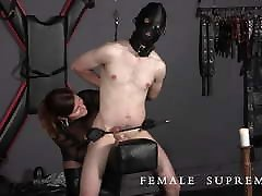 Highly Strung! fmale agents Featuring Dominatrix Baroness Essex