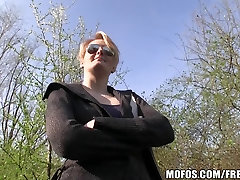 Blonde Czech with perfect tits is paid to mujra dance money and fuck