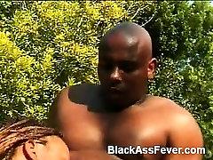 Heres a beautiful black babe that loves sex more than anything else. She goes by the name of Delia Dixxx, a charming young ebony with all natural body, delicious titties and smoking hot ebony ass. Delia Dixxx goes into action taking a cock outdoors and s