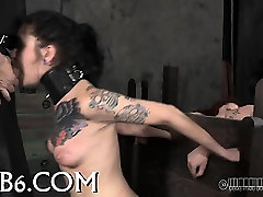 Slavemaster is torturing babes cunt