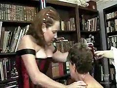 Mature Lesbian Spanking