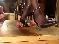 Slingback Milking anushka bp bondage slave love fnr domination