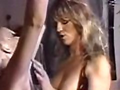 Nipple clamped 90s lesbo