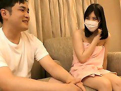 Japanese Asian sex with gost real cocu Spanking by