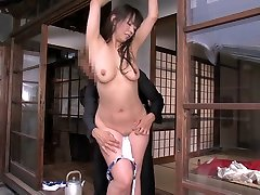 Amazing Japanese slut in Exotic BDSM, vculip dog sex JAV clip