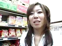 Asian Handjob Blowjob in the Grocery Store