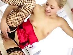 Cfnm Handjob Loving Blonde Sucks Dick