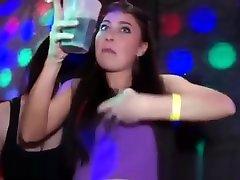 Girl on girl kissing and bjs at bbw yosimura party
