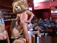 Cfnm party ends with cum explosion