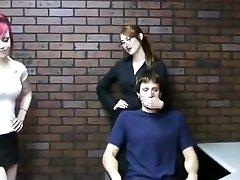 CFNM miss kendra and a punk girl Handjob on one boy