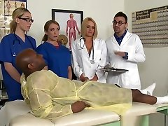 ferrus menus Nurse Cumsprayed In Mouth