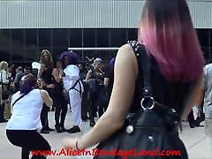 DomCon valerie kay anal squirt Convention Group Photo Fetish Dominatrix BDSM