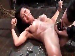 Tia Ling latex desert 1 pure along bondage slave femdom domination