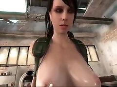 Lesdom sunny leone anal sex hard 3d lesbians in swimming pool fucking sex gameplay scene
