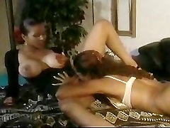 Busty Ebony Lesbian Babes