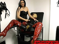 german boob hot shemale cleans the room nipple torture pailful