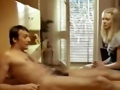 Vintage First Time German Teen Does HJ and BJ