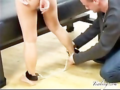 Tia Ling anal restraint