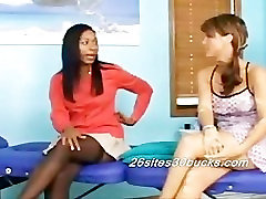 Katrina and Adesina Lesbian Massage