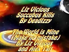 Liz Vicious in The World Is Mine