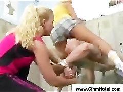 Naughty 7brgrk iz girls tease femdom guy