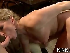 Hot pretty girl dominated in extreme sexy milf kolahs sex