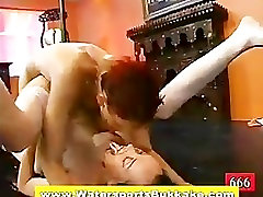 Watersports pee drenched slut fucked