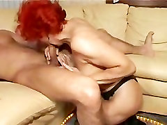 Mature woman and young boy 5