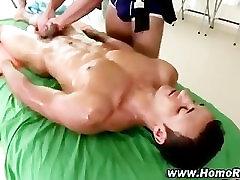 Gay straight guy massage seduction