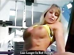Two Mature Bodybuilding Women Gym