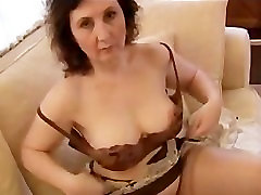 Busty mature milf panty tease and sunny leoni vedio
