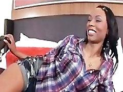 Hot Ebony Teen Loves Anal Backshots