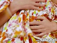 slim russian chick Natasna dildoing