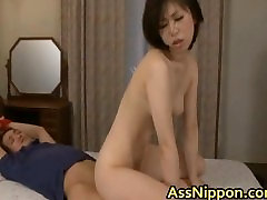 Hot Young Asian Babe Sucks and gets Anus part2