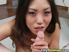 Naughty Asian Loves Cum On Her Mouth