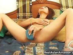 Asian amateur cutie dildo fucking her part4