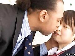Asian schoolgirl gets twat rubbed