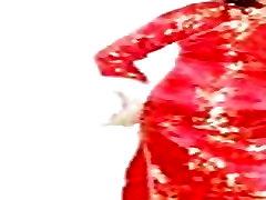Hong Kong lesbian ladyboy Shirleys qipao fashion show