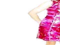 Hong Kong lesbian ladyboy Shirley loves wearing Chinese qipao 2