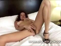 Very lustful mature redhead Taryn West suck enormous black cock