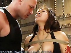Sexy Asian Whipped and Fucked Into Submission