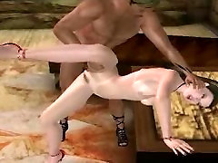 Foxy busty 3D cartoon honey getting fucked hard