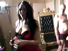 Two German thiendiacom phim sex hay anh mom and son erotic fucking Teen Seduce Old Man to Lick to Orgasm