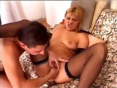 Blonde pornstar fisted and fucked hard