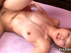 Cute Asian Teen And Two Guys All Holes Penetration