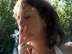 Smoking Fuck outdoor