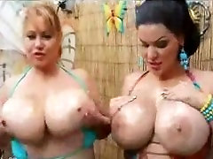 Spicy Hot BBW Pegged Alluring Perky
