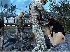 Fallout 4 xxxx cartoon ful movie 3d monster pyt no panties Zombies attacked a girl