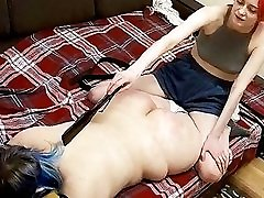 BBW Babe in Lesbian seachbd dashi sex Domination Action! Hidden Cam