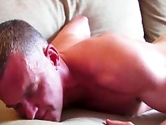 Mathieu, a sexy mature sport male get wanked his huge cock by me!